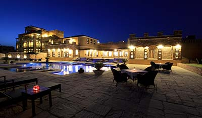 One of the best luxury hotels in Ranthambore / One of the best resorts in Ranthambore